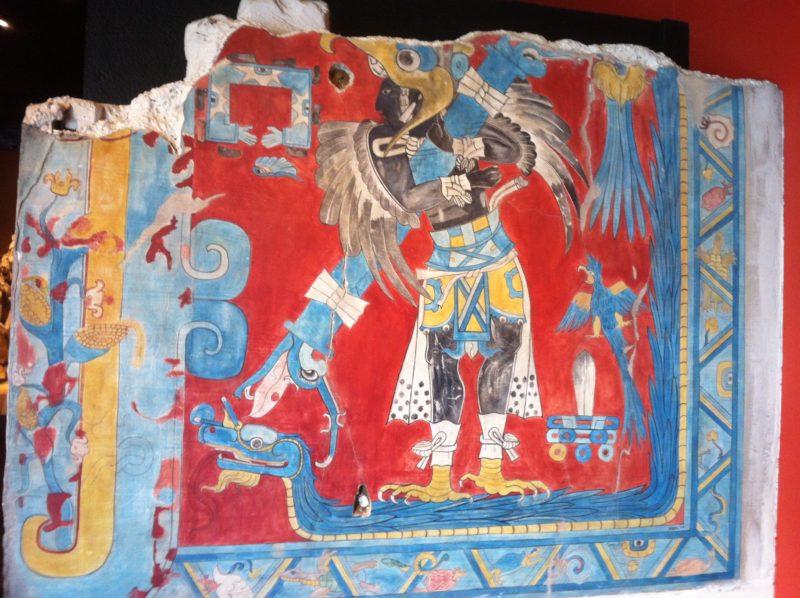 Fresque maya