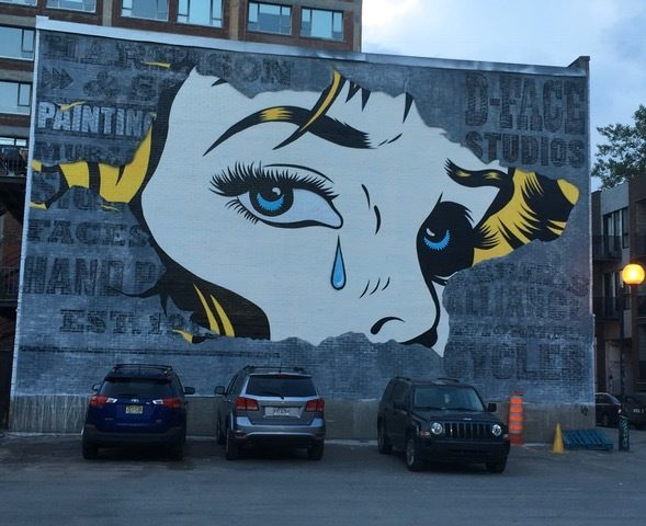 Murale à Montréal, 2018