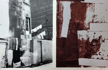 La ruelle vers l'art, Michel Leclair, 1979